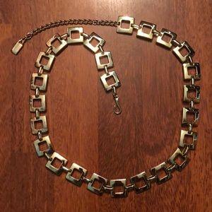 """Gold tone link belt 40"""" in length"""